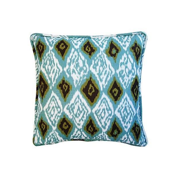 Custom Eaton Square Firebird Linen Pillows - Pair - Image 6 of 7