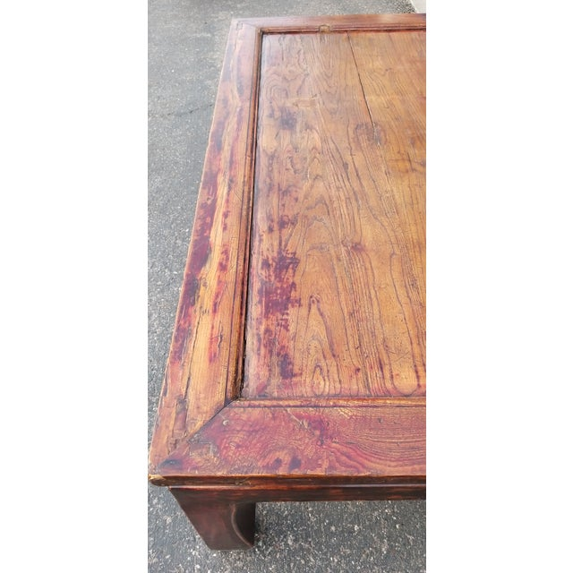 20th Century Asian Antique Monk Style Coffee Table For Sale In Phoenix - Image 6 of 13