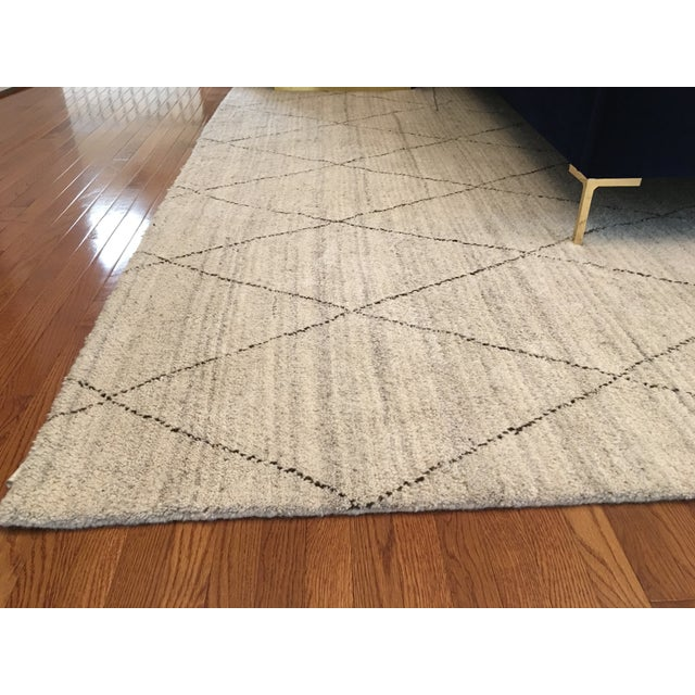 Dash & Albert Hand Knotted Wool Rug - 10' × 14' - Image 4 of 5