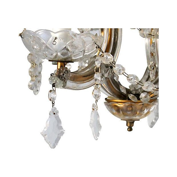 Maria Theresa Crystal Chandelier - Image 4 of 5