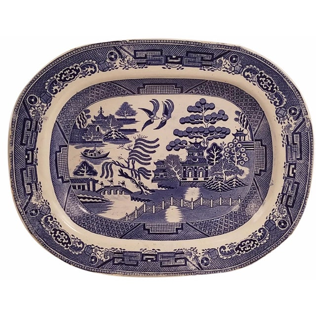 Blue Willow Platter - Image 1 of 2
