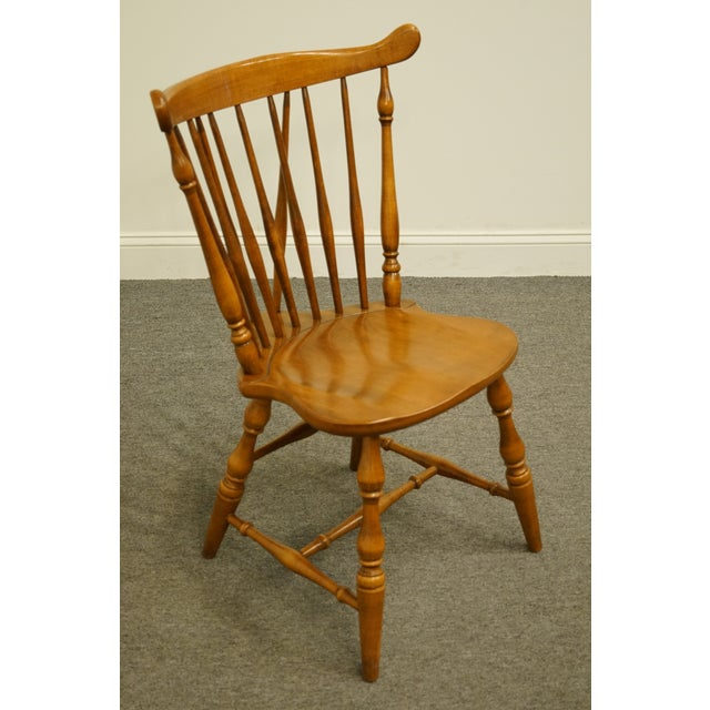 Late 20th Century O Hearn Furniture Gardner Ma Solid Sugar Maple
