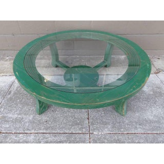 Paul Frankl Industrial Modern Round Coffee Table Preview