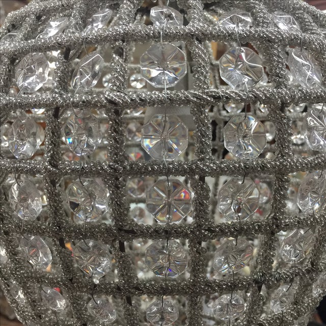Traditional Teardrop Chandelier For Sale - Image 3 of 6