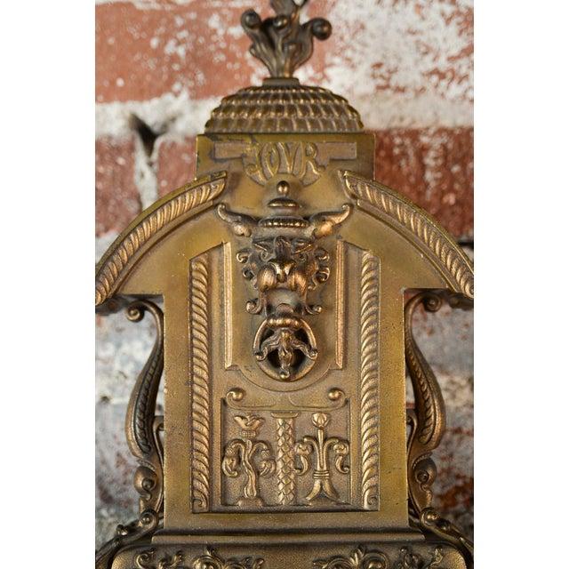 19th Century Creusy Paris Bronze French Clock - Image 6 of 10