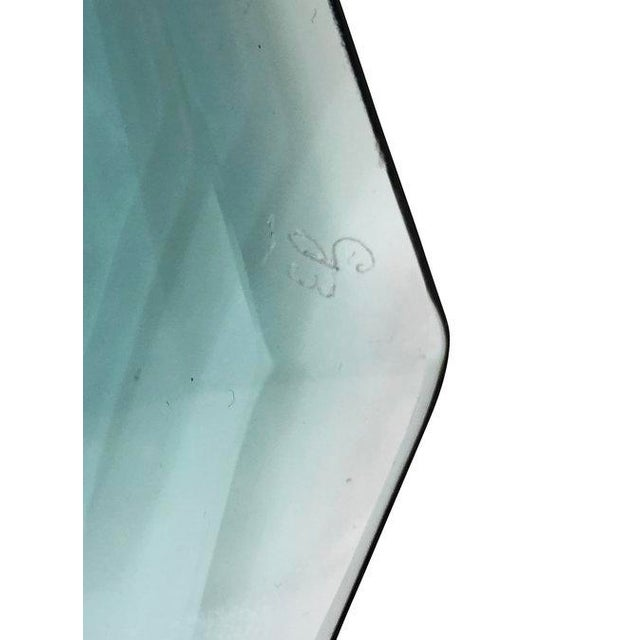 Mid-Century Modern 1960s Fontana Arte Glass Centerpiece, Italy For Sale - Image 3 of 6