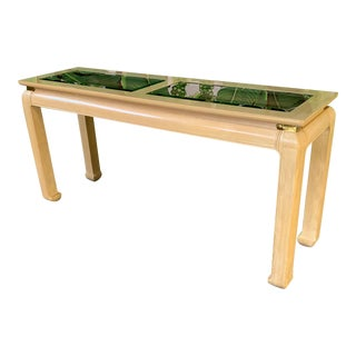 Ming Asian Console Table by Bernhardt For Sale