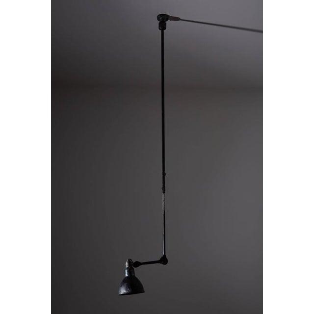 Model No. 302 Adjustable Ceiling Light by Gras Ravel - Image 8 of 9