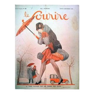 """Lorenzi 1924 """"Les Femmes Plus Juenes"""" Le Sourire Print"""