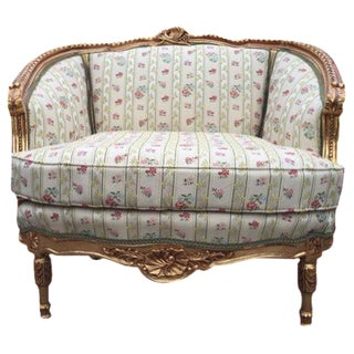 Corbeille Style Loveseat For Sale