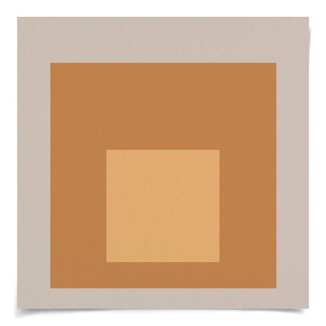 Modern Color Squares, Set of 4, Unframed Artwork For Sale - Image 4 of 6