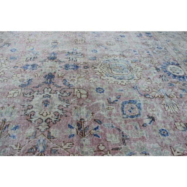 Vintage Sivas Turkish Wool Rug - 8′1″ × 11′1″ For Sale - Image 4 of 8