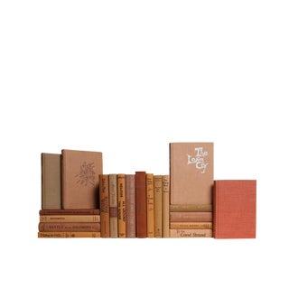 Mid-Century Coral Treasures Decorative Books - Set of 20