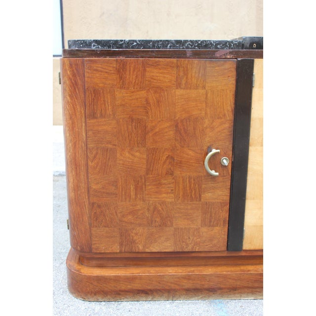 French Art Deco Palisander and Sycamore Buffet / Sideboard By Tricoire Circa 1930s - Image 7 of 11