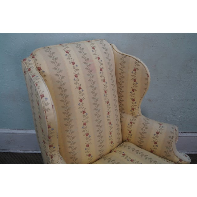 Queen Anne Style 18th Century Wing Chair - Image 5 of 10