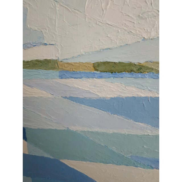 Contemporary Acrylic Painting by Andy Dobbie, the Inland Sea II For Sale - Image 6 of 9