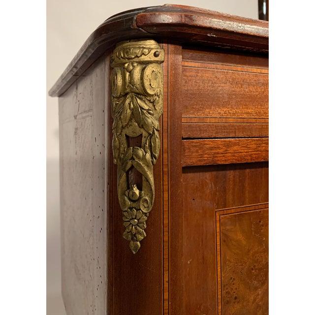 Chestnut Antique French Bedside Cabinet For Sale - Image 8 of 9