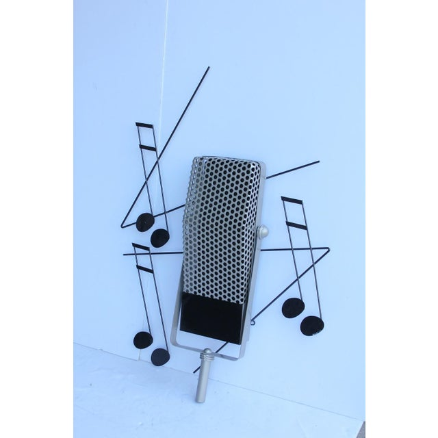 1994's Metal Sculpture By Curtis Jere. This piece would be a great gift for a musician or music lover.