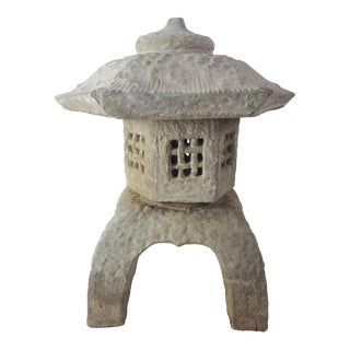 1960s Vintage Japanese Garden Pagoda For Sale