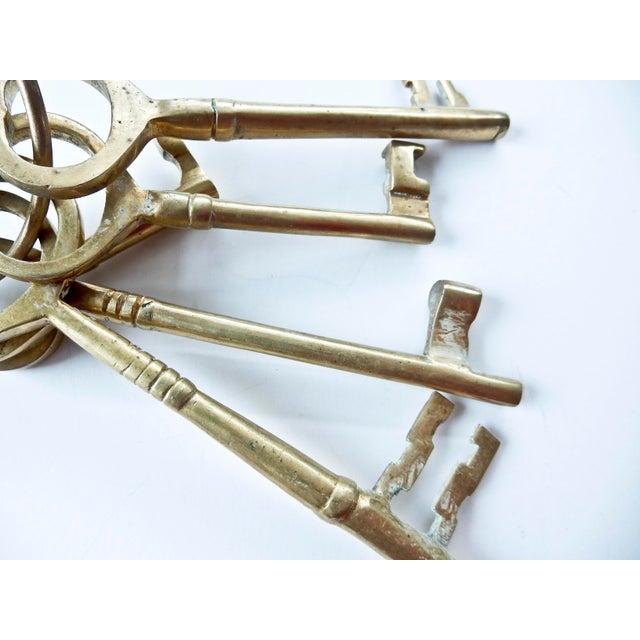 Vintage Brass Skeleton Keys - Image 6 of 9