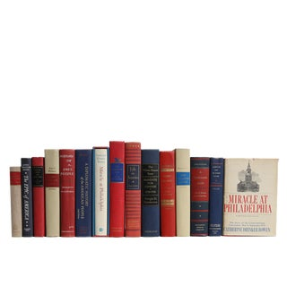 The American History Book Set, S/15 For Sale