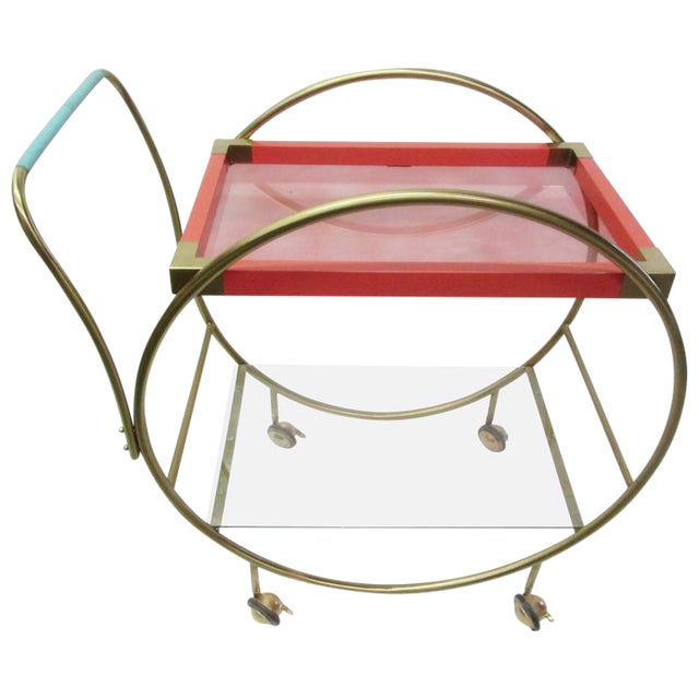 Colorful Memphis Cart - Image 1 of 5