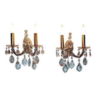 1930s Maria Teresa Wall Sconces - a Pair
