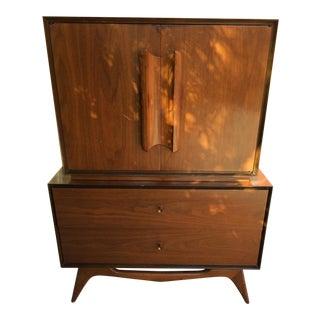Style of Albert Parvin Gentleman's Chest Dresser