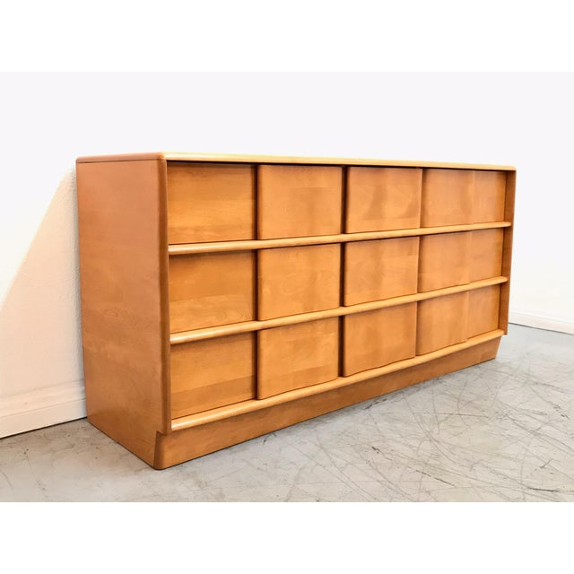 1960s Mid Century Modern Heywood Wakefield Dresser For Sale - Image 5 of 11