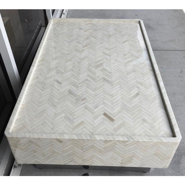 Tessellated Bone Coffee Table - Image 6 of 7