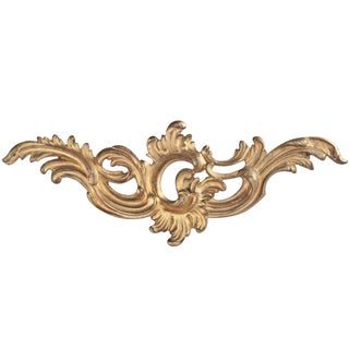 French Gilded Bronze Furniture Ornament