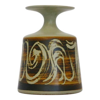 Designs West, Ca Stoneware Vessel For Sale
