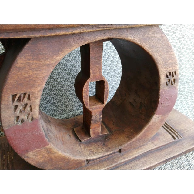 Early 20th Century African Ashanti Stool For Sale In Palm Springs - Image 6 of 9