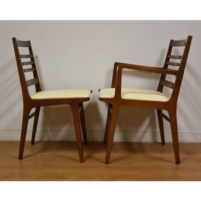 Rway White Dining Chairs - Set of 8 For Sale - Image 5 of 10