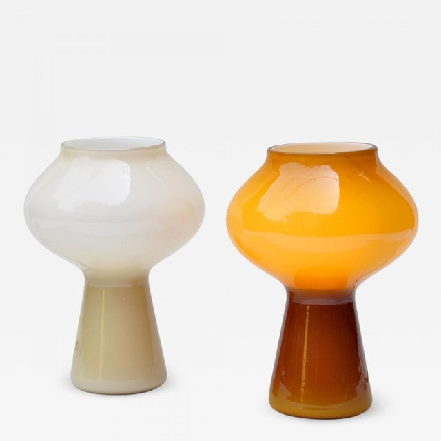 """Pair of """"Fungo"""" Table Lamp by Massimo Vignelli for Venini, 1950s For Sale In New York - Image 6 of 6"""