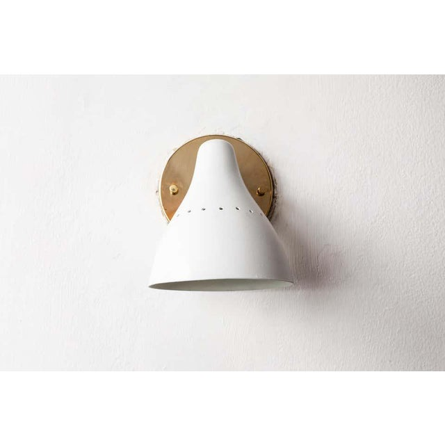 Arteluce 1950s Gino Sarfatti White Articulating Sconce for Arteluce For Sale - Image 4 of 13