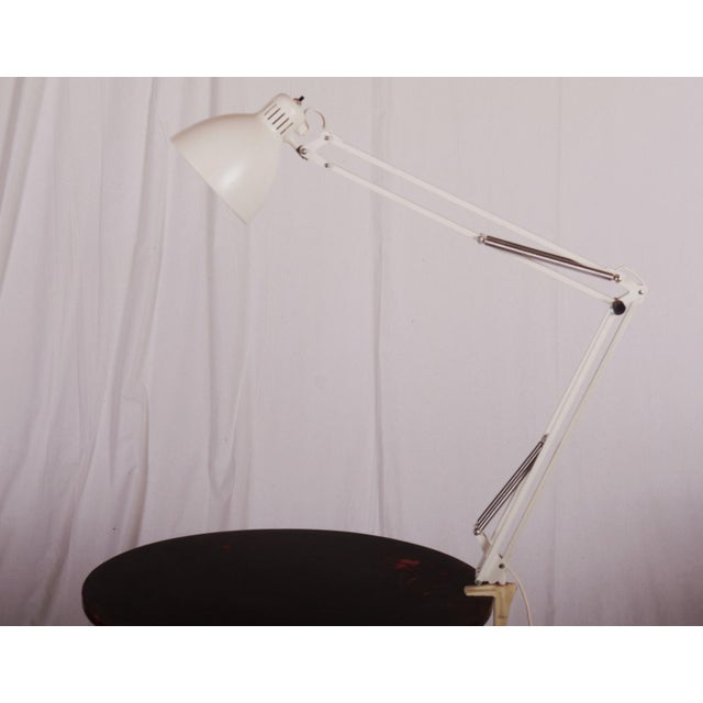 White Table Lamp by Luxo, 1980s For Sale - Image 10 of 10