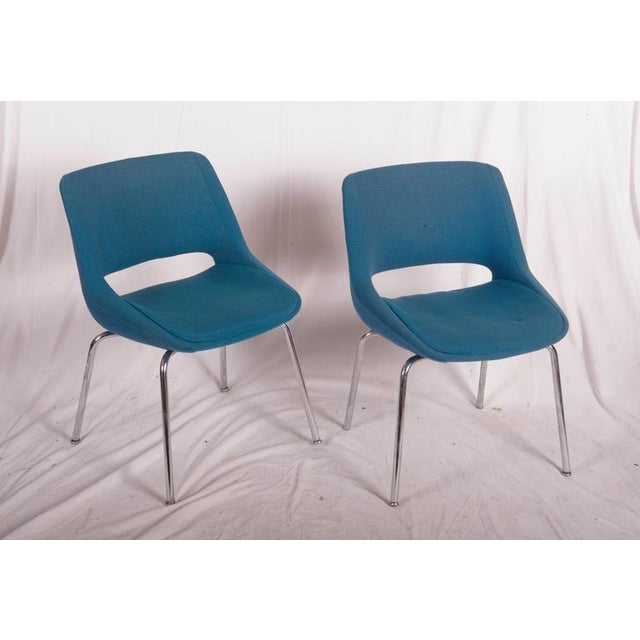 Mid-Century Chairs by Olli Mannermaa for Martela Oy - A Pair For Sale - Image 9 of 11