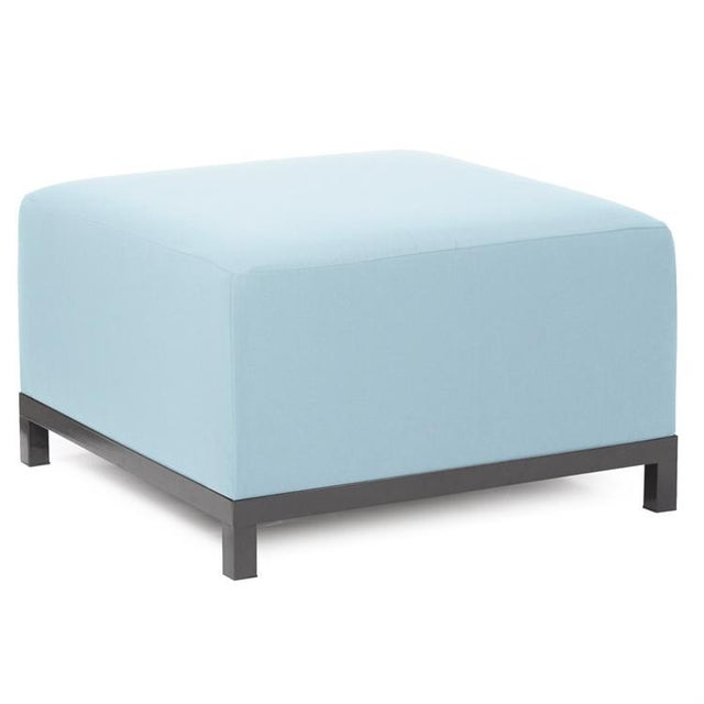 Urban Patio 4pc Sectional In Seascape Ocean Blue Brighten Your Day Outdoors! Make your backyard getaway even more fun with...