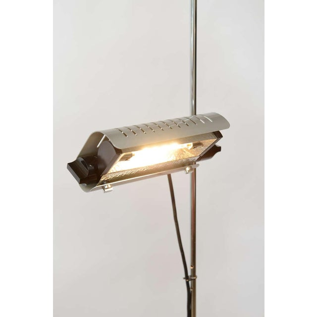 Joe Colombo Alogena for O-Luce Italian Adjustable Floor Lamp For Sale In Miami - Image 6 of 10