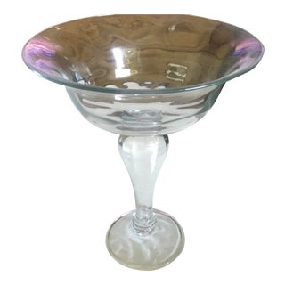 Abigails Tall Glass Compote For Sale