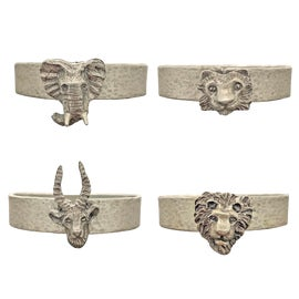 Image of Silver Napkin Rings