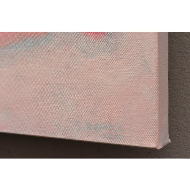 "Stephen Remick ""You and Me"" Stephen Remick Large Contemporary Abstract Painting For Sale - Image 4 of 12"