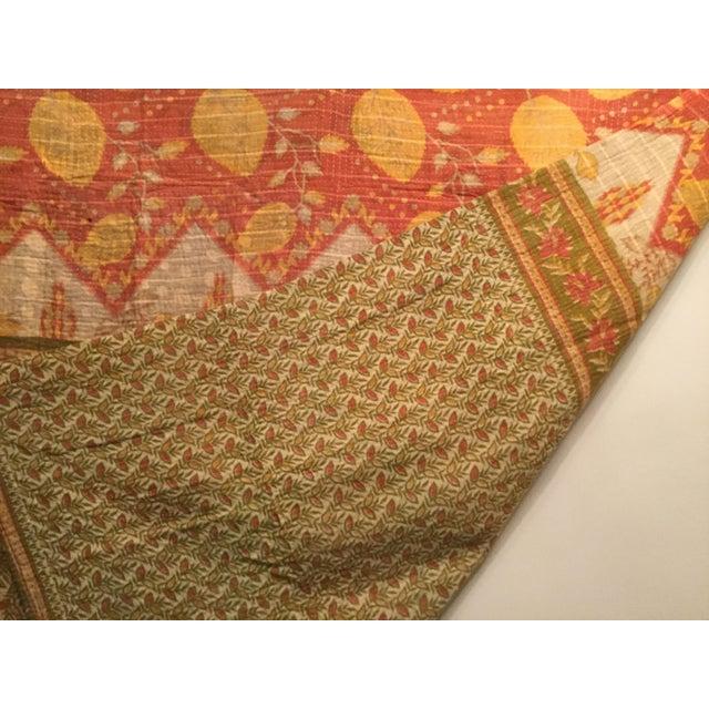 Vintage Kantha Quilt - Image 5 of 6