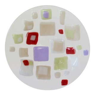 Fused Glass Bowl For Sale