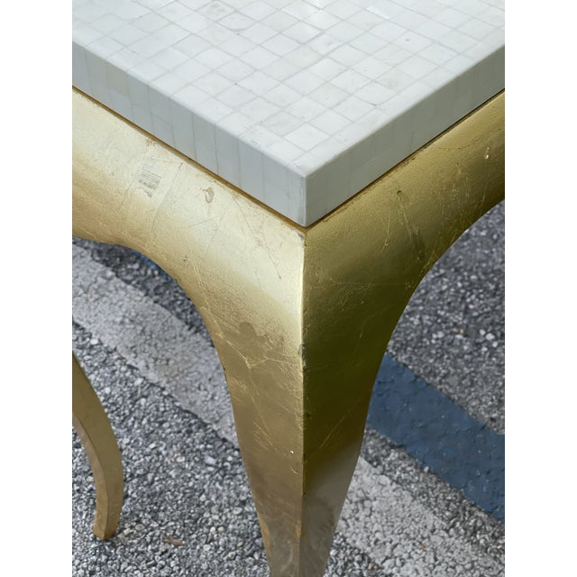 Tessellated and Horn Console For Sale In Miami - Image 6 of 10