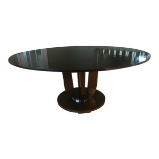 Barbara Barry Round Fluted Dining Table For Sale