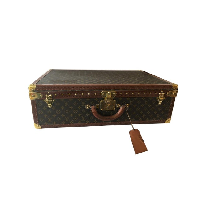 Louis Vuitton Hardside Luggage Piece For Sale - Image 9 of 9