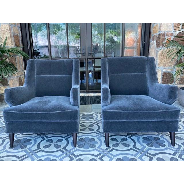 Studio Van den Akker Benjamin Club Chairs - Set of 4 For Sale - Image 4 of 6