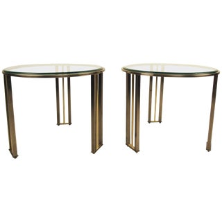 Pair of Side Tables by Design Institue of America For Sale